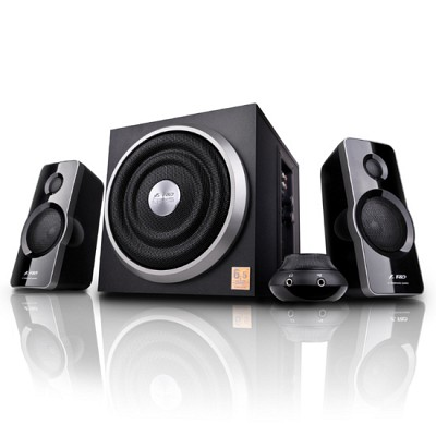 [Canston] 스피커 F&D A320 (2.1채널 / 유선리모컨 / 6.5인치 서브우퍼 / 스마트폰 & MP3 등 지원 AUX 단자 / 저음조절 / FENDA)