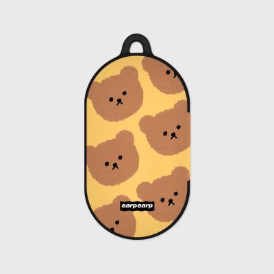 Dot big bear-yellow(Buds hard case)