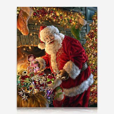 살찐 산타클로스 DIY 보석십자수 십자수 비즈세트