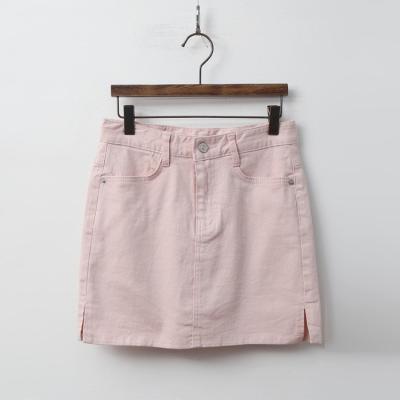 H Cotton Mini Skirt - 치마바지