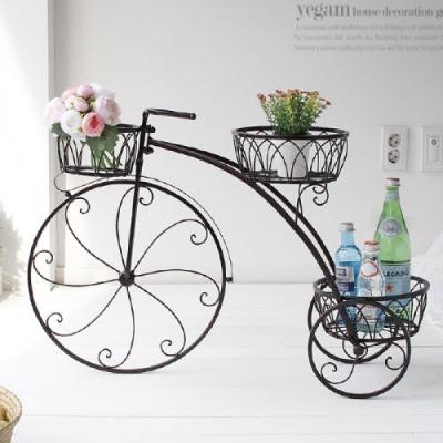 [2HOT] 철제 자전거 화분 (HX673)