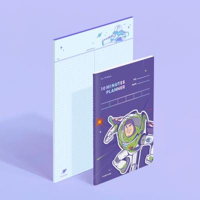 [디즈니] 텐미닛 플래너 31DAYS + 노트페이퍼 - 버즈