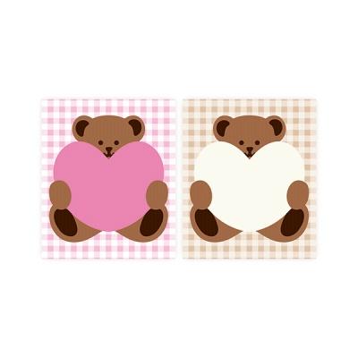 하트 곰 (2종)