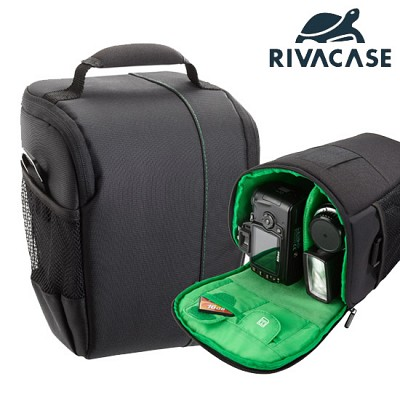 SLR 카메라 가방 RIVACASE 7440 (분리 가능한 패딩 칸막이 / 홀스터 타입)