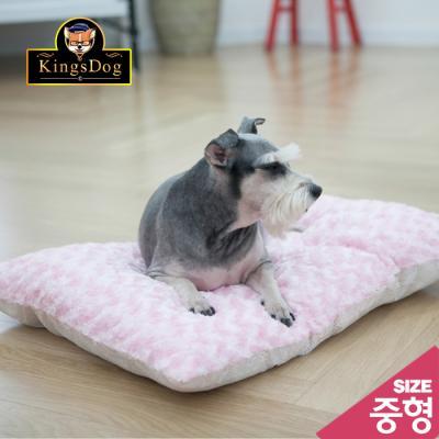 킹스독/펫방석/강아지방석/애견방석/개방석/사각달팽이/중형
