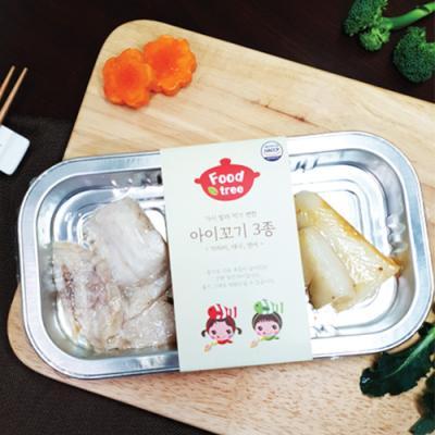 영유아식단 아이꼬기 3종(대구,연어,가자미) x 2팩