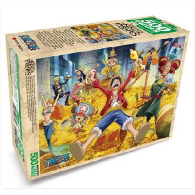 [학산문화사] 원피스 직소퍼즐 500pcs: 보물더미