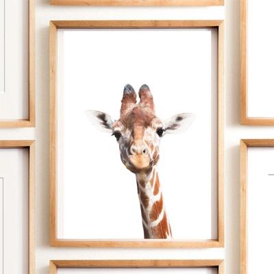 아기 기린 - 미니멀 감성사진 포스터