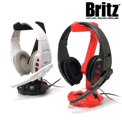 브리츠 게이밍 헤드셋 시스템 BHST-G2 (7.1사운드채널 / 40mm 네오디뮴 드라이버 / 거치대 포함)