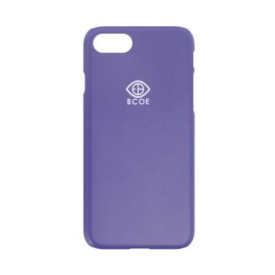 LOGO SIMPLE PHONE CASE purple 후원 폰케이스 비코