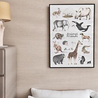 동물 포스터