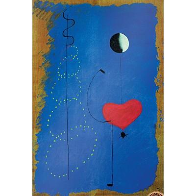 1000조각 직소퍼즐▶ 호안 미로 - 댄서 II (EU6-0854)