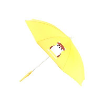 세이프가드 아동용 LED 우산 너구리 노란색