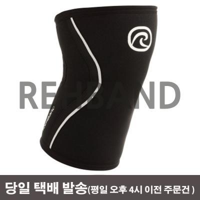리밴드 무릎보호대 RX라인 3mm 블랙