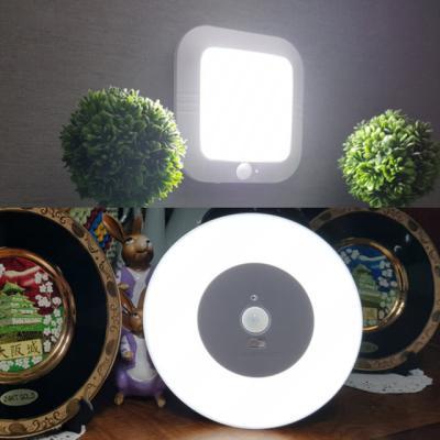 아이클 LED 소프트 센서등 사각형 원형