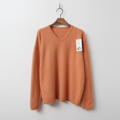 Raccoon N Fox Wool V-Neck Sweater