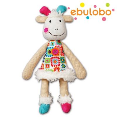 에불로보 프랑스 국민 애착인형 염소 휴고트 미니