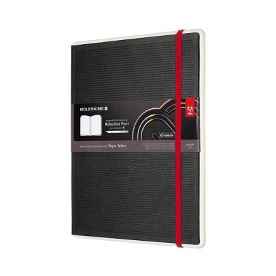 몰스킨 페이퍼 태블릿[어도비]플레인/블랙 하드XL