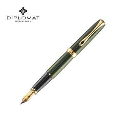 디플로마트 엑셀런스 A2 에버그린 금장 만년필