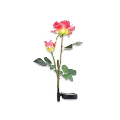 LED 정원등 가든램프 /장미 Pink/ 태양광충전 LCSS964
