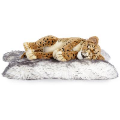 4681번 잠자는표범 Leopard Cub Sleeping/40cm.H