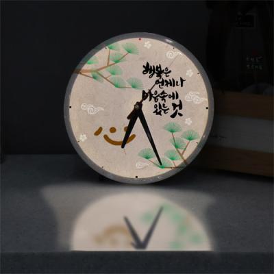 ng033-LED시계액자25R_행복한시간