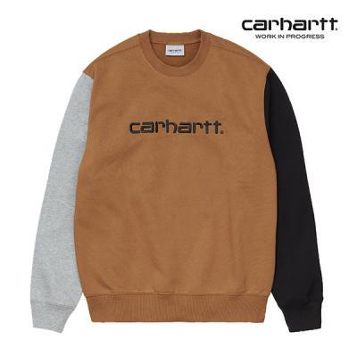 칼하트WIP Tricol Sweatshirt (Hamilton Brown)