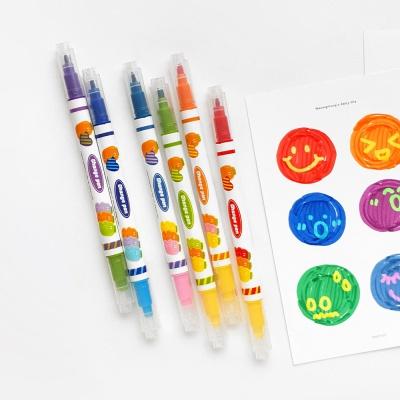 핑크풋 4000당근체인지형광펜(6p)