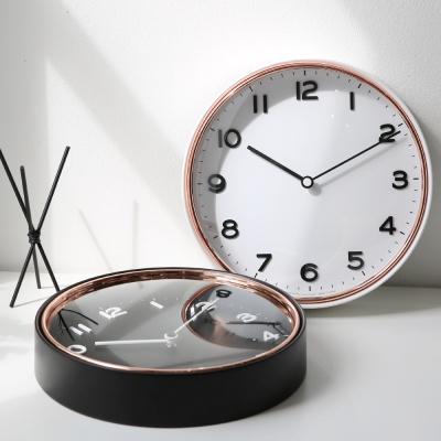 모로 볼록유리 무소음벽시계