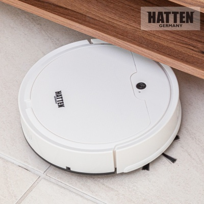 [하텐] 스마트 원격제어 습건식 로봇 청소기