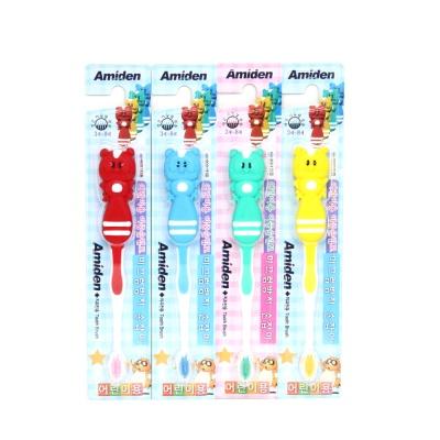 아미덴 너구리 칫솔 12개 (색상랜덤)