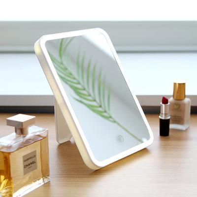 LED 터치 메이크업 심플 인테리어 뷰티 조명 탁상거울