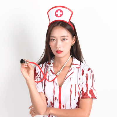 섹시 간호사 머리띠