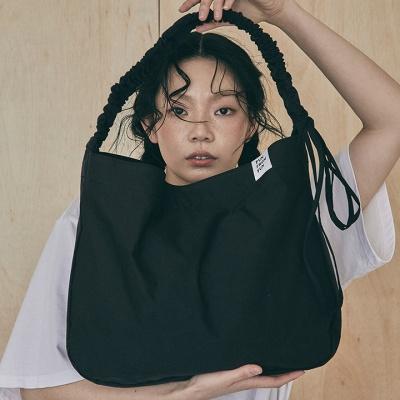 Shirring shoulder hobo bag_melon
