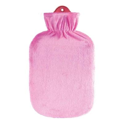 [생어] 보온물주머니 2L - 벨루어 핑크