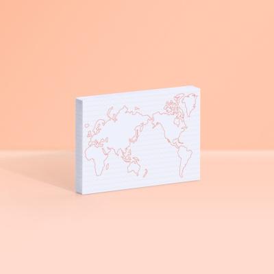 [모트모트] 스티키 노트 - 세계지도