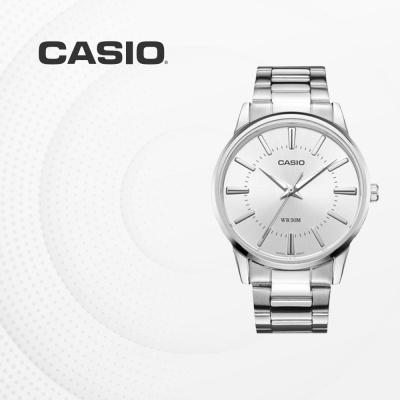 카시오 아날로그 남성 커플 손목시계 MTP-1303D-7A