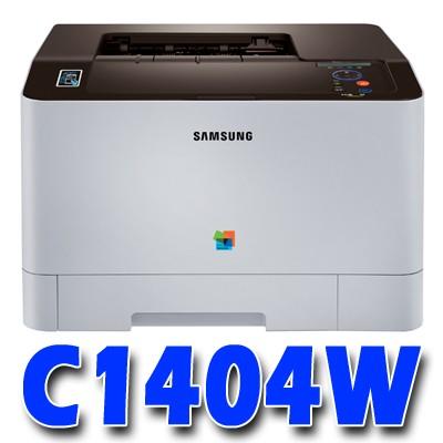 삼성 컬러 레이저 프린터 SL-1404W / NFC, Wi-Fi, 모바일 / 256MB / USB2.0, 무선 / A4