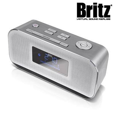브리츠 블루투스 스피커 & 라디오 & 시계 BZ-M115BT (알람 기능 / USB메모리 & AUX 외부입력 단자 / 취침 설정)