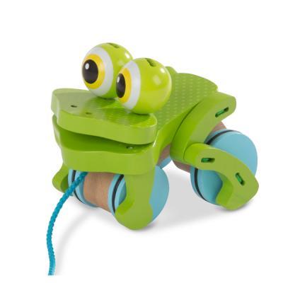 베이비 개구리 끌기 놀이