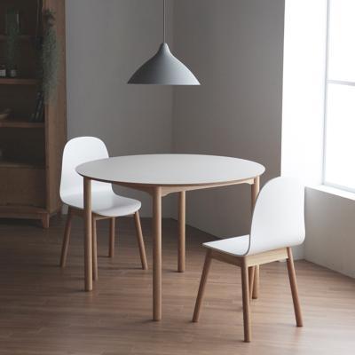 마리 이태리 호마이카 원형테이블 2인식탁
