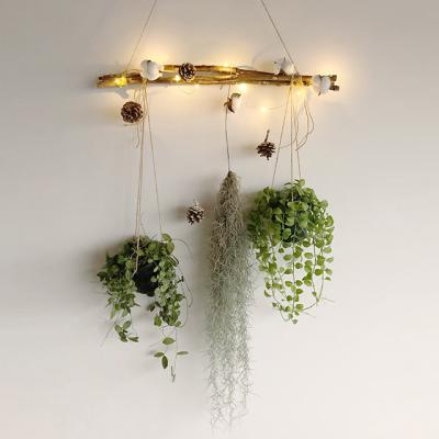 LED 가랜드 DIY 행잉식물 8종