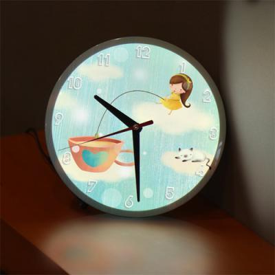 ng144-LED시계액자25R_소녀의꿈속여행C