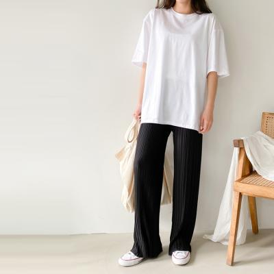 Pleats Chic Wide Pants