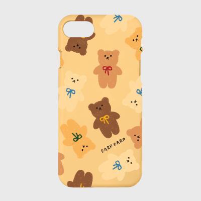 Dot ribbon bear-2color(color jelly)