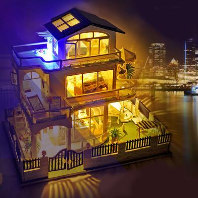 DIY 미니어처 풀하우스 - 벤쿠버 저택