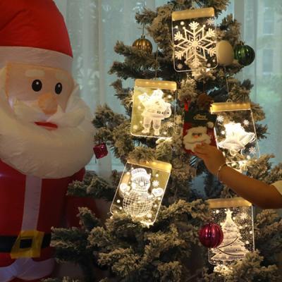 인블룸 크리스마스 3D조명 LED 모빌형 6종 택1