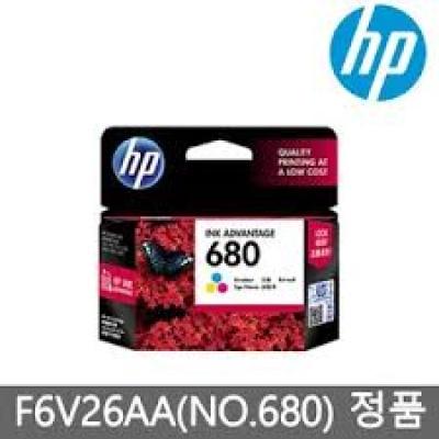 HP 정품잉크 NO 680 F6V26AA 컬러