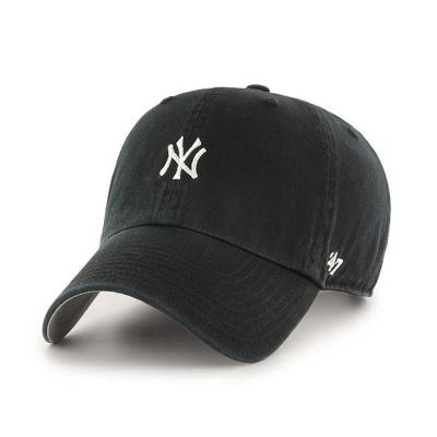 MLB모자 뉴욕 양키즈 블랙 화이트미니로고
