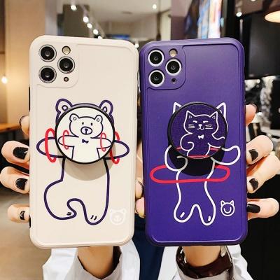 아이폰se2 11 pro max xr xs 곰 고양이 그립톡 케이스